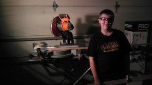 David and my new Miter Saw